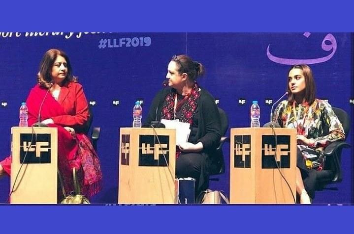 Atiqa Odho and Iqra Aziz Talks at LLF 2019