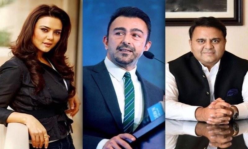 Preity Zinta versus Shaan & Fawad Chaudhry!