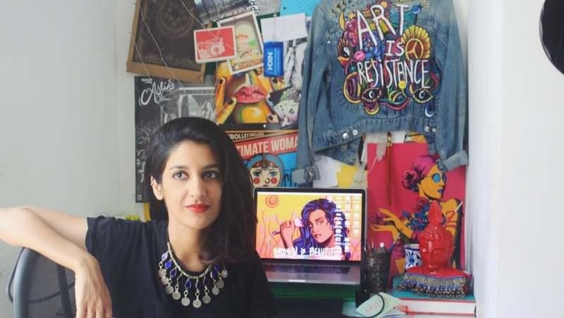 Shehzil Malik: Promoting Women Empowerment with Feminist Art in Pakistan