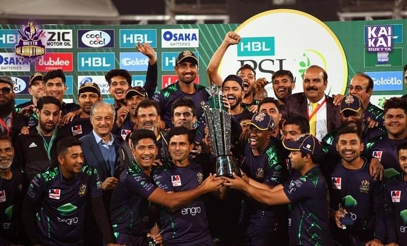 Stars Celebrate Quetta Gladiators' Win!