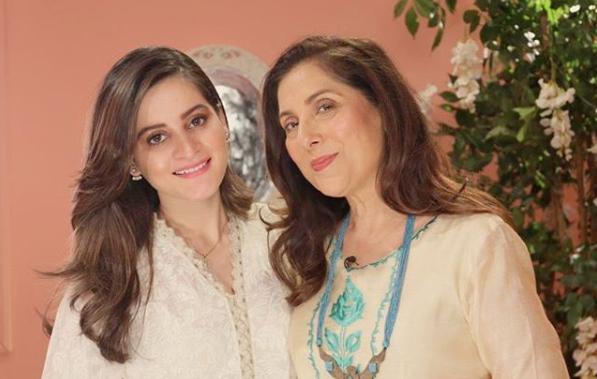 Aiman Khan Opens Her Heart to Samina Peerzada in Her Show