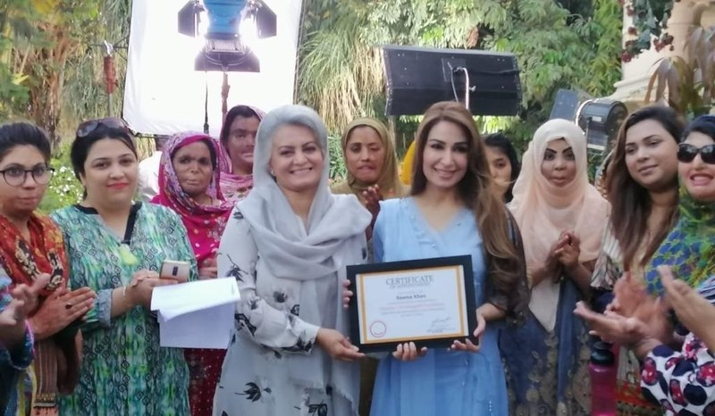 Reema Khan Comes on Board with the DSF as their Brand Ambassador!
