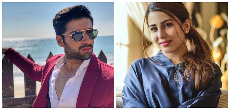 "HIP Exclusive: Muneeb Butt and Ushna Shah Wrap Up Shoot For Eid Telefilm ""Pinky Ka Dulha"""