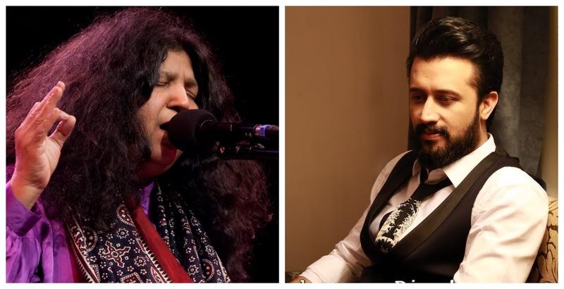 "Abida Parveen and Atif Aslam Collaborate on New Track ""Pardadari"""