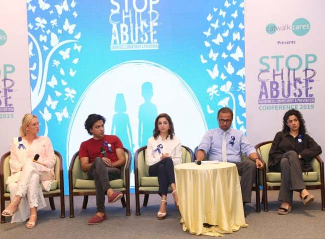 Shehzad Roy, Sarwat Gillani and Shaneira Akram Attend First Child Abuse Conference