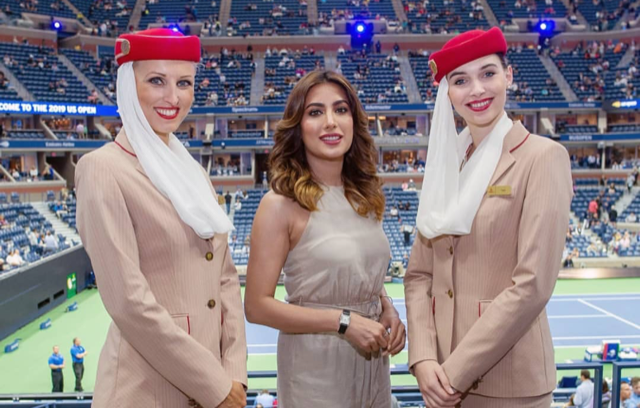 Mehwish Hayat Claps Back at a Troll for Dissing her Choice of Attire at US Open