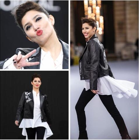 Mahira Khan slaying it at the L'oreal Paris Fashion Week!
