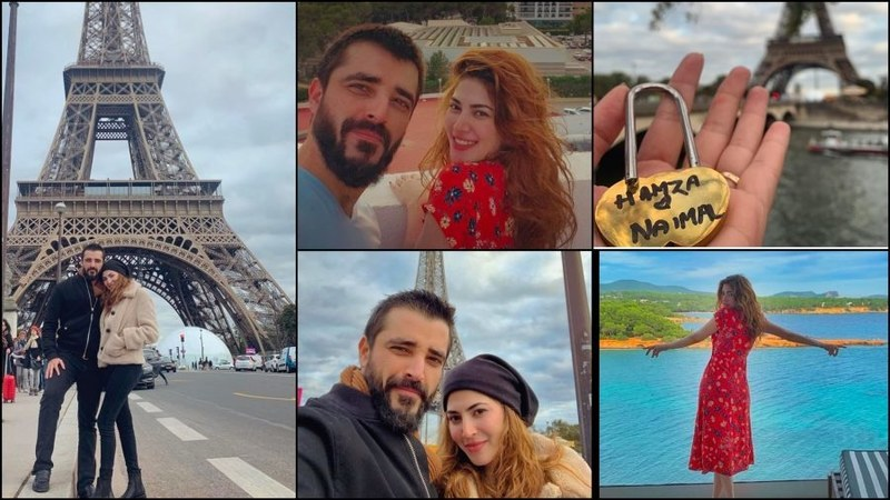 Hamza & Naimal's honeymoon pictures are yelling #CoupleGoals!