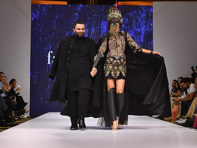 Designer Fahad Hussayn quits industry following bankruptcy.