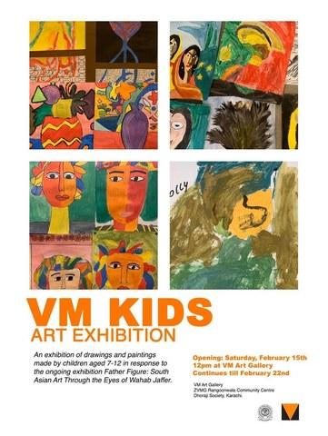 VM Kids Art Exhibition opens on February 15