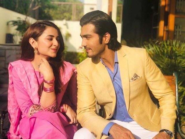 Yumna Zaidi and Shehzad Sheikh pair up for Raaz-e-Ulfat