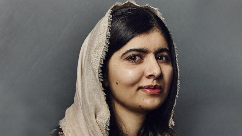 Malala Yousafzai uses quarantine to create a new look