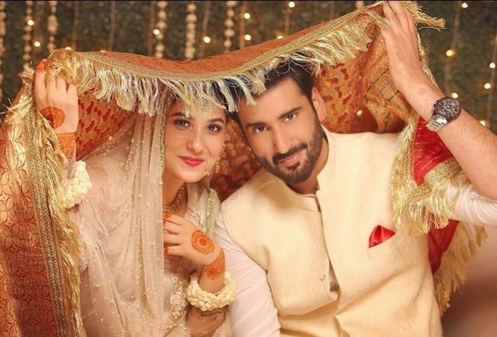 Hina Altaf and Aagha Ali Get Nikkah-fied!