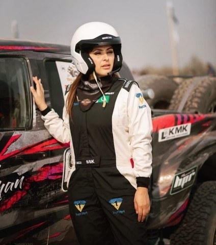 Salma Marwat Khan: Victress of the 5th Thal Jeep Rally