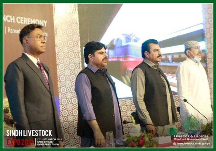 The Second Edition of Sindh Livestock Expo 21' is underway!