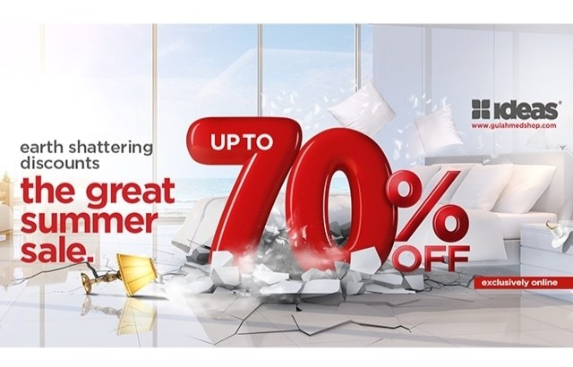 Welcome To The Great Summer Sale by GulAhmed & Ideas