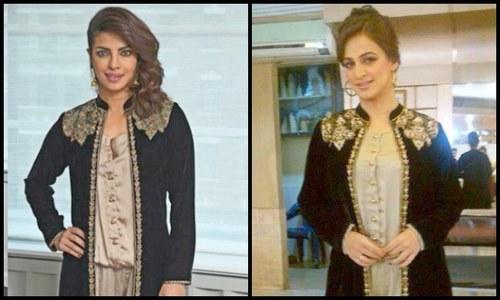 Priyanka Chopra wears Pakistani designer, confusion ensues