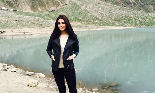 Vacation mode on: Maya Ali explores northern areas with family