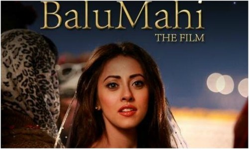 The first look of Balu Mahi took us back to movies by Sanjay Leela Bhansali