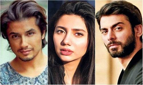 Pakistani Celebrities rule dubsmash