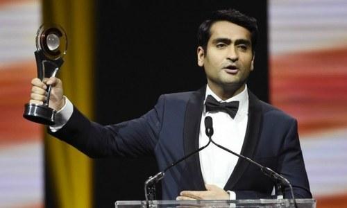 Kumail Nanjiani wins comedy star of the year award in Las Vegas