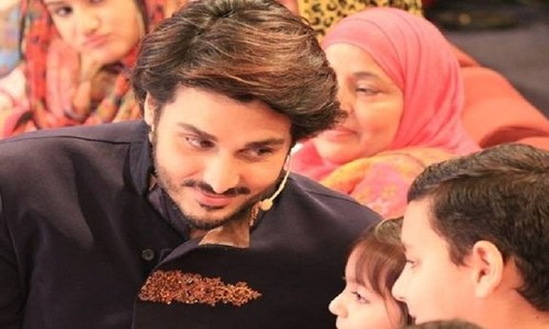 Ahsan Khan joins this year's list of Ramzan transmission hosts