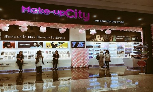 Unveil your beauty with Makeup City's new store at LuckyOne