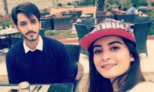 Aiman Khan shooting new play 'Hari Hari Churriyan'