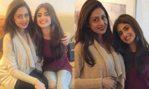 Sridevi praises Sajal Aly during 'Mom' promotions