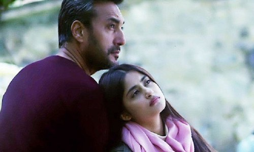 """There's no 'Mom' without a Dad,"" Adnan Siddiqui on his Bolly debut"