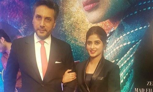 It was celebrity galore at 'Mom's premiere in Karachi last evening