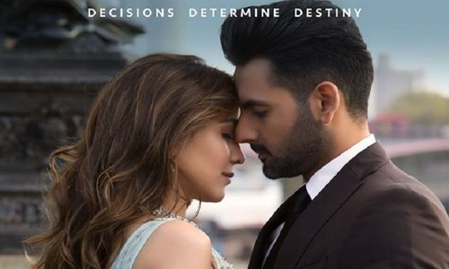 Mohib's frenzy shines clear in character teaser for 'Arth -The Destination'