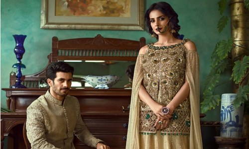 Saba Qamar dominates Vogue India in Zainab Chottani