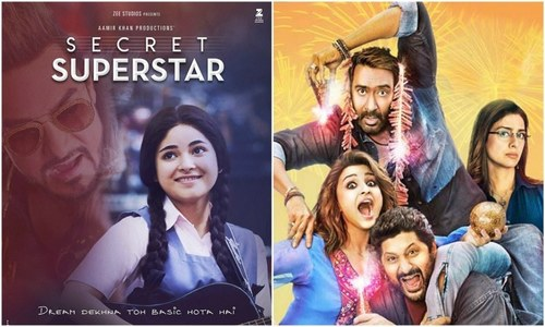 Eveready Pictures to release Golmaal Again and Secret Superstar on 20th October across the country