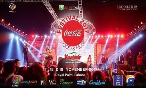 Coke festival 2017: enjoy sumptuous food with soulful music