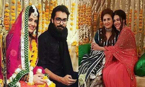 Asad Siddiqui and Zara Noor tie the knot