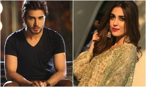Imran Abbas and Maya Ali to walk the ramp in Qatar!