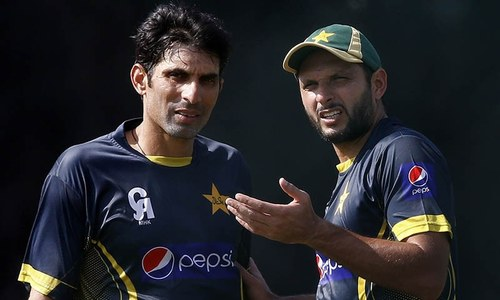 Misbah vs Afridi - One Last Time