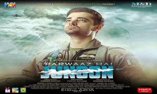 "Momina and Duraid Films' ""Parwaaz Hai Junoon"" to hit theatres worldwide on Eid-ul-Azha 2018"