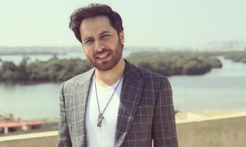 Verna fame Haroon Shahid soon to be seen on television screen