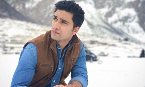 """""""I don't think it's even fair to compare Bollywood to Pakistani cinema right now,"""" says Ahad Raza Mir"""