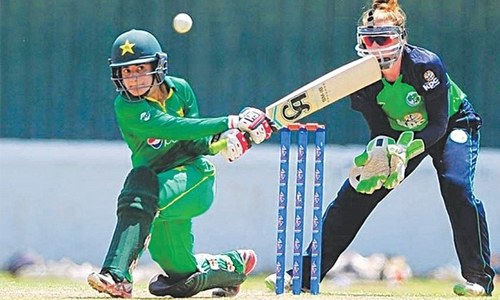 Javeria Khan & Nashra Sandhu keep Pakistan alive in Women's T20 World Cup