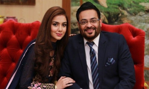 Aamir liaquat to produce a Netflix film with his new wife, Tuba