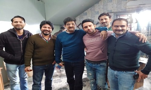 Renowned Director Kashif Nisar Ropes In Nauman Ejaz and Hamza Firdous For Web Series