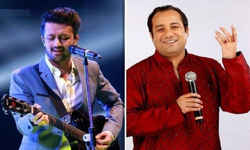 T-series deletes tracks by Atif Aslam and Rahat Fateh Ali Khan