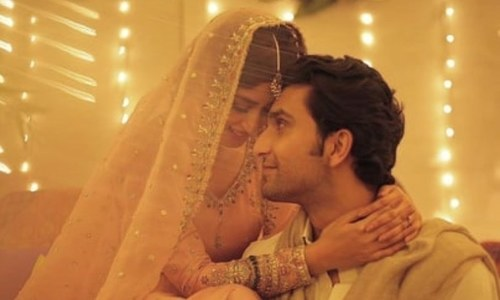 Ahad Raza Mir and Sajal Aly Pair Up for a Cross Border Web Series