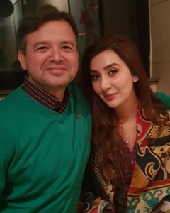Former actress Aisha Khan and husband become parents!