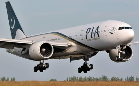 PIA plane A320 crashes near Karachi Airport in Model Colony