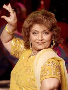 Legendary Bollywood  Choreographer Saroj Khan Passes Away at 71
