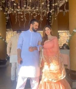Hamza Ali Abbasi and Naimal Khawar Welcome Their First Child!
